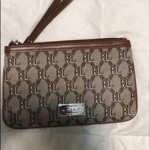 Ralph Lauren wrist wallet